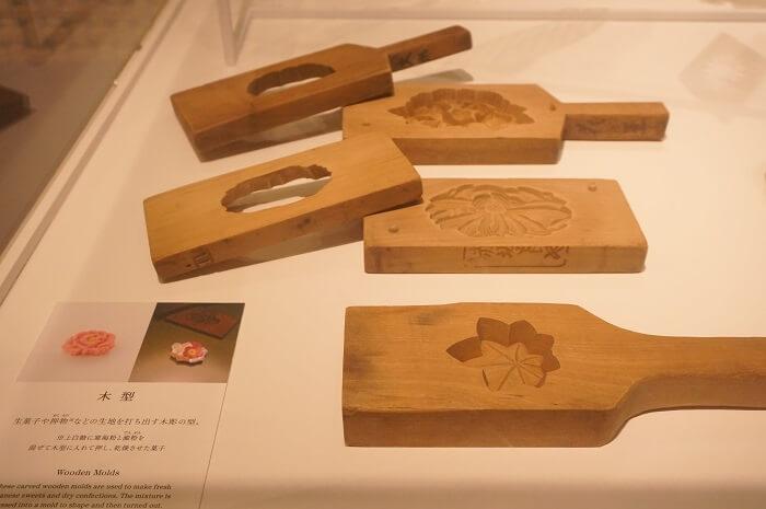 和菓子の木型。高級らしいよ。