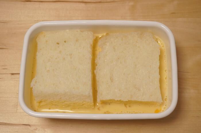 アパレイユにしたしているパン。