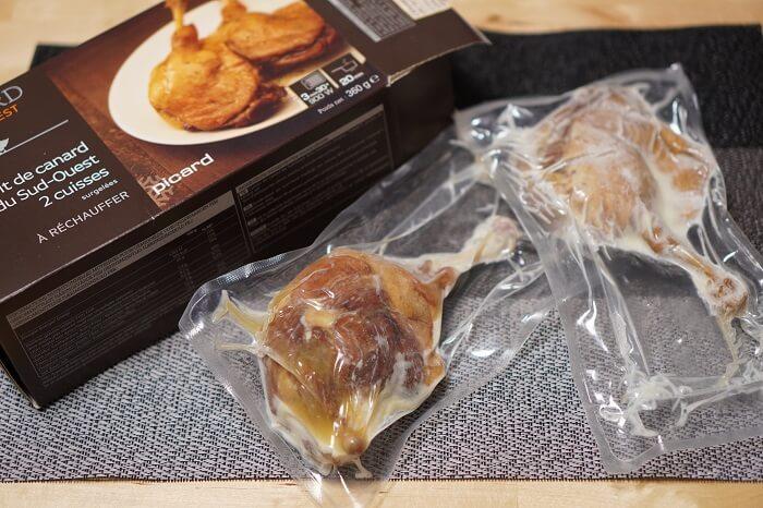 フランスの高級冷凍食品!ピカールのイチオシは鴨のコンフィ。