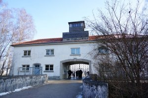 ダッハウ強制収容所(Konzentrationslager Dachau)の外観。