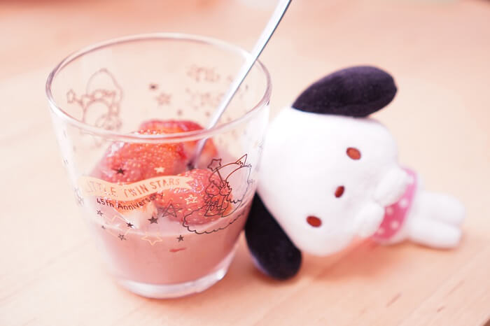節分で残った福豆をデザートに!とろとろ苺フォンデュのレシピ