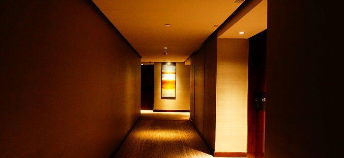 ホテルの様子。