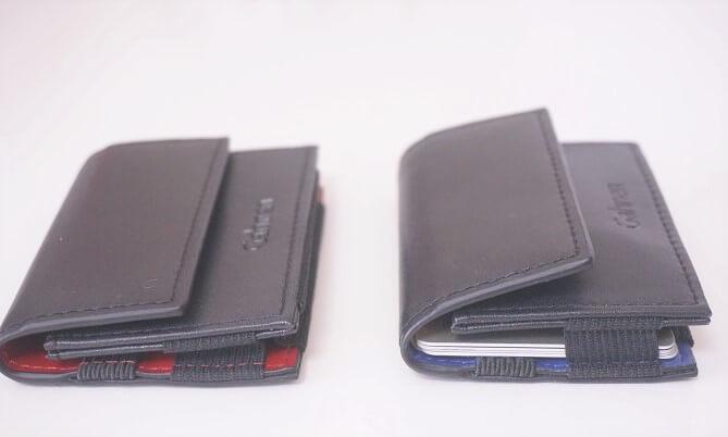 [ゲーネン]のキャッシュレス財布にいつものお財布の中身をいれてみた。