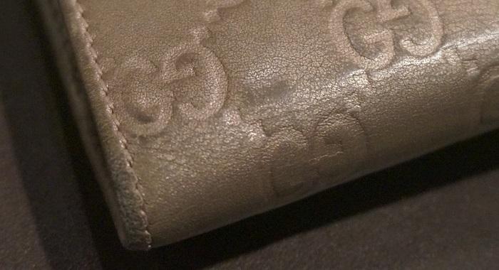 古いお財布も、塗り直しで蘇るか試してみた。