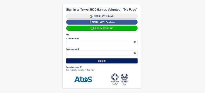 誰に向けて作ったの?東京オリンピックのボランティア登録フォーム