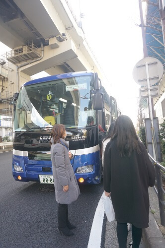 大型バスなので安心&安全!