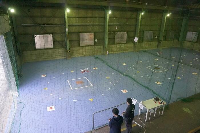 東京でドローンを自由に飛ばせる飛行場。