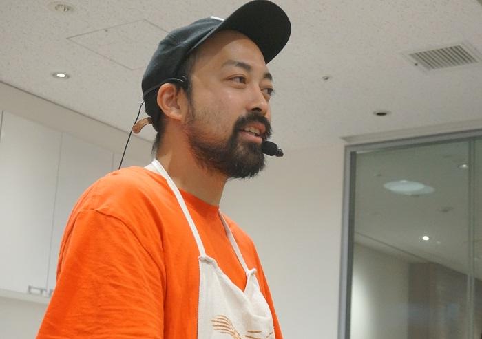 ペペロッソ総料理長・今井和正シェフのチーズ解説と料理講習