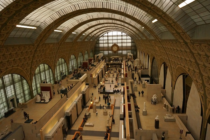パリのオルセー美術館にいってきました。