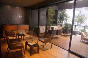 秋葉原のNOHGA HOTEL(ノーガホテル)の2階スタジオの様子。