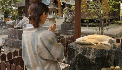 美肌も神頼み♡嬉野温泉にある<豊玉姫神社>の白なまず様に本気でお願い