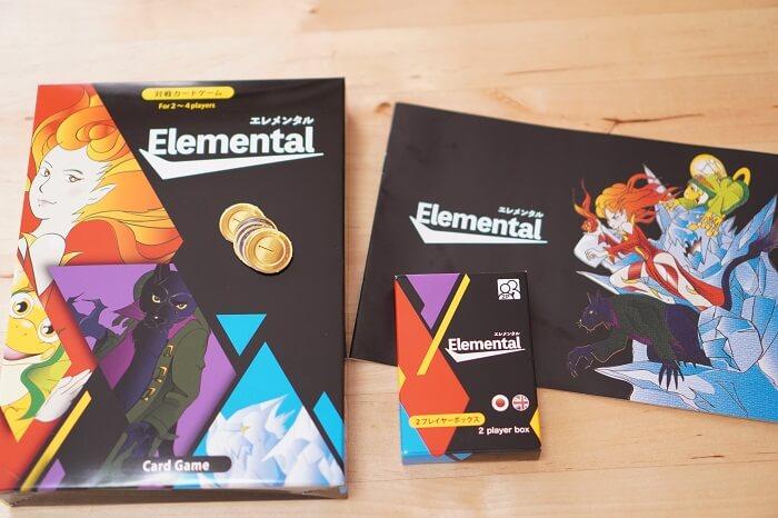 2-4人用対戦型カードゲーム「エレメンタル」を使った感想は?
