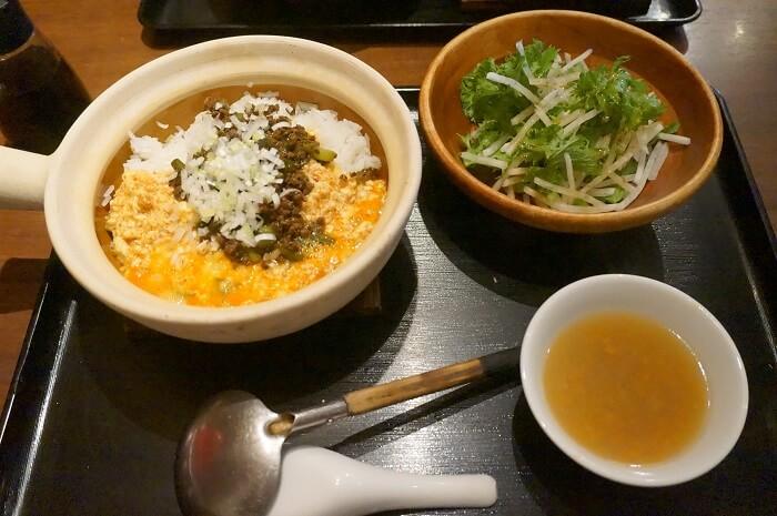 雲南豆腐の土鍋コース990円!六本木でコスパが一番いい中華かも。