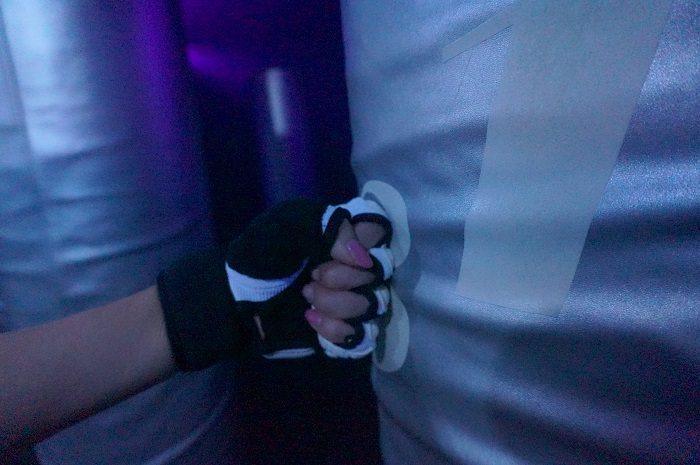 キックボクシング体験。ネイルしてても大丈夫?