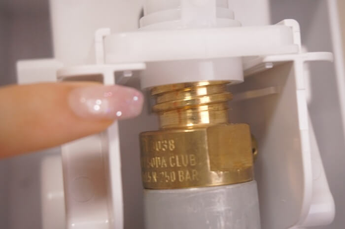ソーダストリームのガスはどのくらい使えるのか?