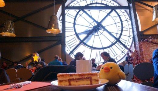 大時計が目の前!パリ<オルセー美術館>のカフェ「カンパーナ」が素敵