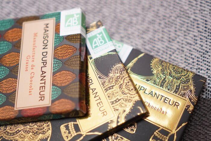 <メゾン・デュプランター>のチョコレートはEUのオーガニック認証も取得!