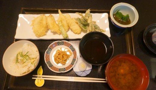 1500円でフグ♡赤坂い津みの天ぷら定食!たけのこご飯おかわりOK