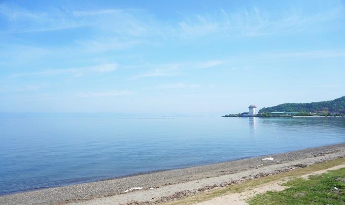初夏の琵琶湖♪早起きしたのでフラっとサイクリングしてきた