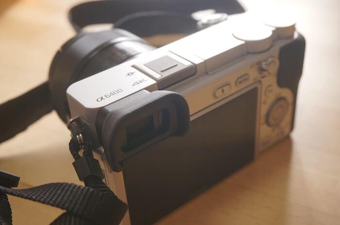 4K動画も撮れる!ソニーのデジタル一眼カメラα6400