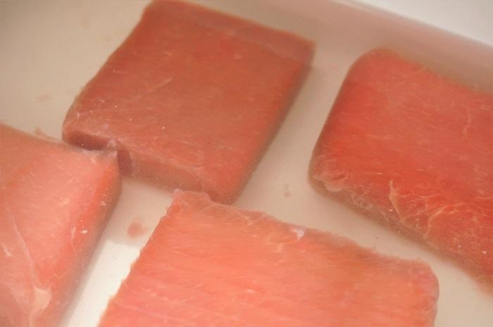 冷凍マグロの上手な解凍のコツ&簡単手巻き寿司レシピ