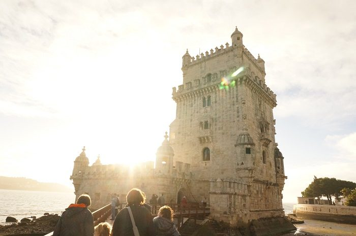 リスボンの海辺に佇む<ベレンの塔 (Torre de Belem)>