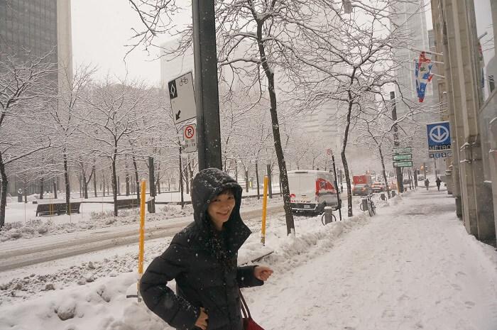 雪がドカドカ降る!カナダ・ケベック州のモントリオールを歩いてみた。実体験の散策日記です。