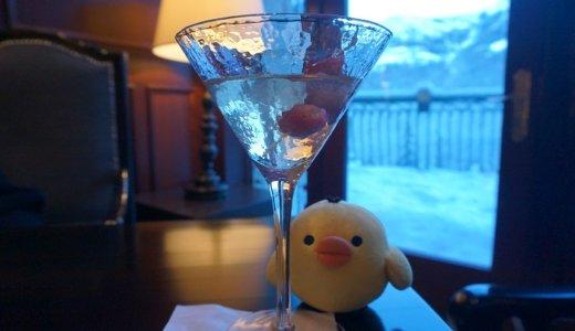 アイスワインのカクテルが飲めるバンフリムロックリゾートホテルが素敵