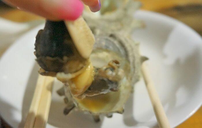 サザエは一生分食べました!@千葉県きよっぱち