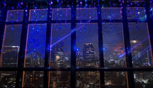 雨でも素敵な東京タワーからの夜景!七夕のイルミネーションをみてきたよ