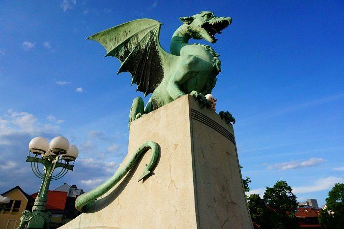 リュブリャナのシンボル!竜|リュブリャナ城も徒歩圏内!観光に便利なおすすめホテル