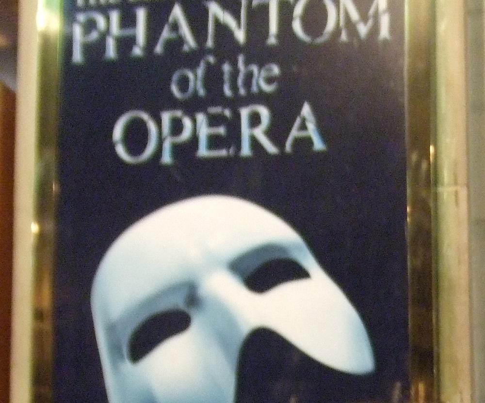 本場・オペラ座の怪人!ウエストエンドのハー・マジェのチケット