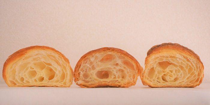 フランスの素材、バターにこだわった都内の有名ベーカリーのクロワッサン断面を比較|東京の行列パン屋8選!クロワッサンおすすめ店はココ
