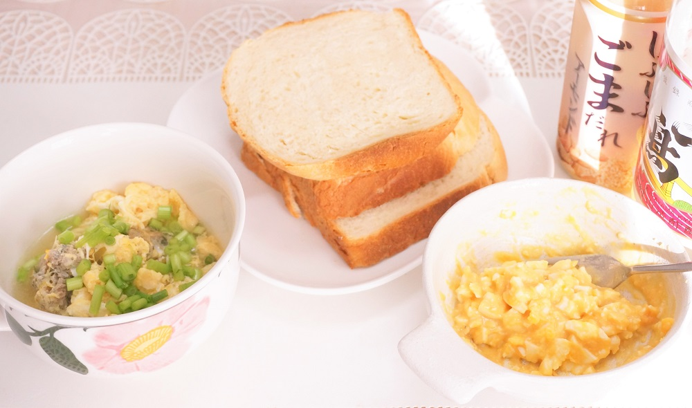 【しゃぶしゃぶ用のごまだれ×お酢】ヘルシーなたまごタルタルソースであったか朝食