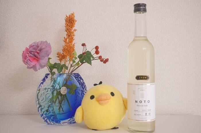 NOTO Dessert Sake 無ろ過生原酒 2020