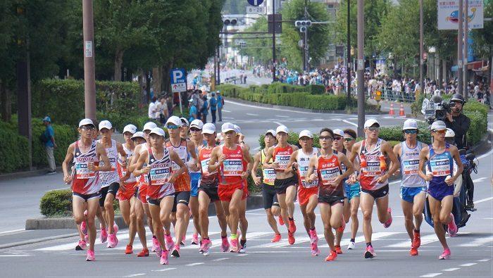 2019年9月MGCマラソン【飯田橋交差点下にて撮影】転載などの使用許可のご連絡は朝岡真梨事務所まで。