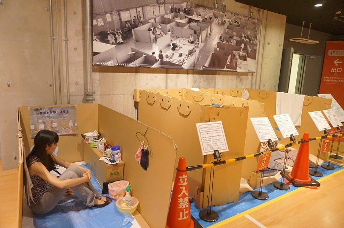 そなエリア東京で、避難所生活のトイレ事情を学びました。|【避難所生活のリアル】災害時に使えるマンホールトイレや工具不要・20分で組み立てできる個室トイレ