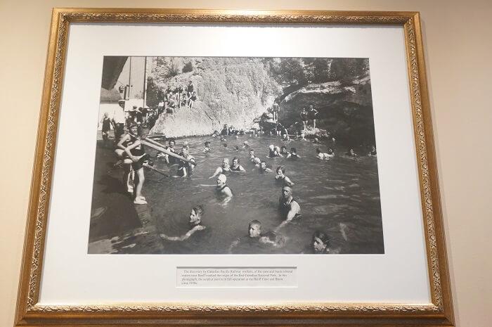 バンフスプリングスホテルはかつて、本当に天然温泉を引いていました。