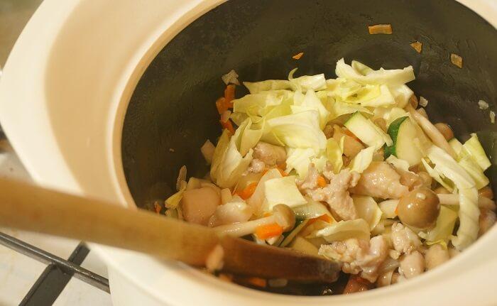 土鍋のbestpot(ベストポット)で節約料理に挑戦。