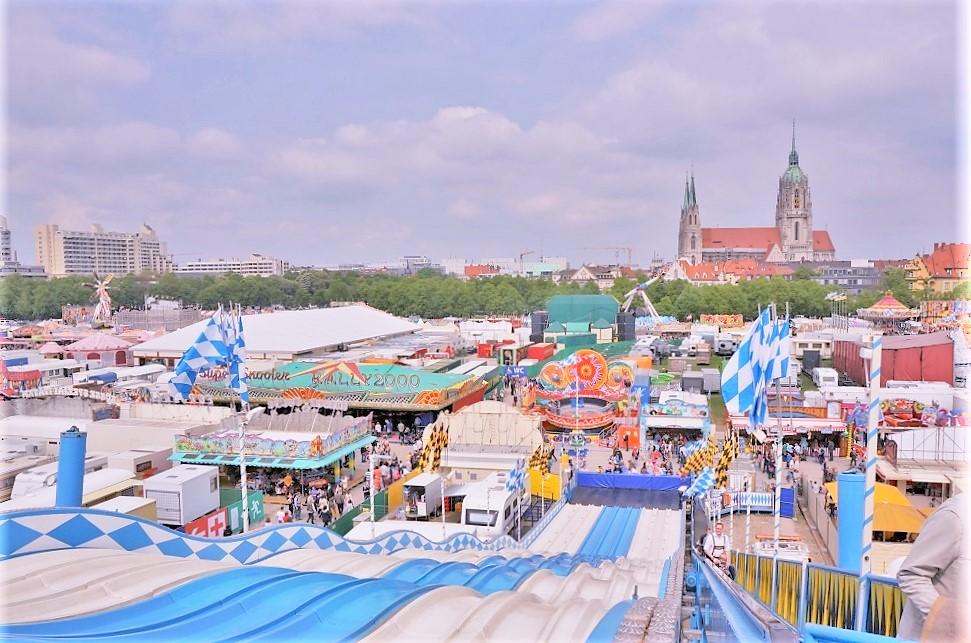 【ビール祭り】ミュンヘンの春はフリューリングフェストにでかけよう