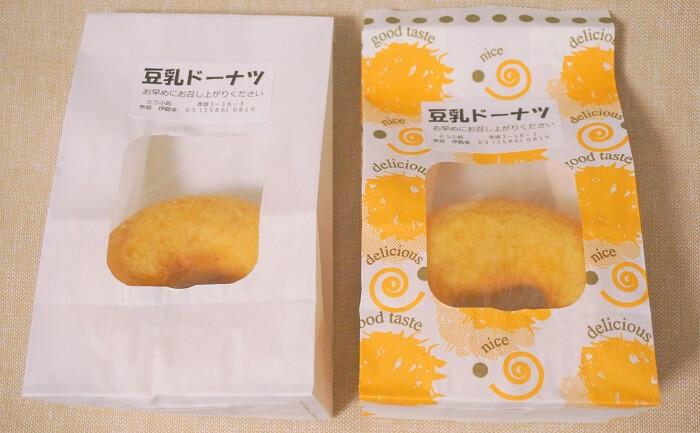 赤坂の伊勢幸で買える豆乳ドーナッツがおいしい
