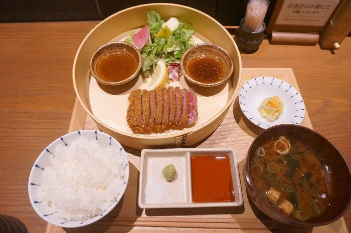 実際に食べてみました!|日本橋おすすめ肉ランチ<加藤の肉丸>牛かつ御膳