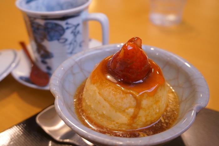 麻布十番の甘味処「天のや」プリンとぜんざいでほっこりなカフェタイム♪