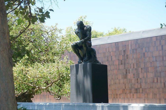 本物!ロダン(Auguste Rodin)の有名な「考える人(The Thinker)」に出会える|<ノートン・サイモン美術館(Norton Simon Museum)>