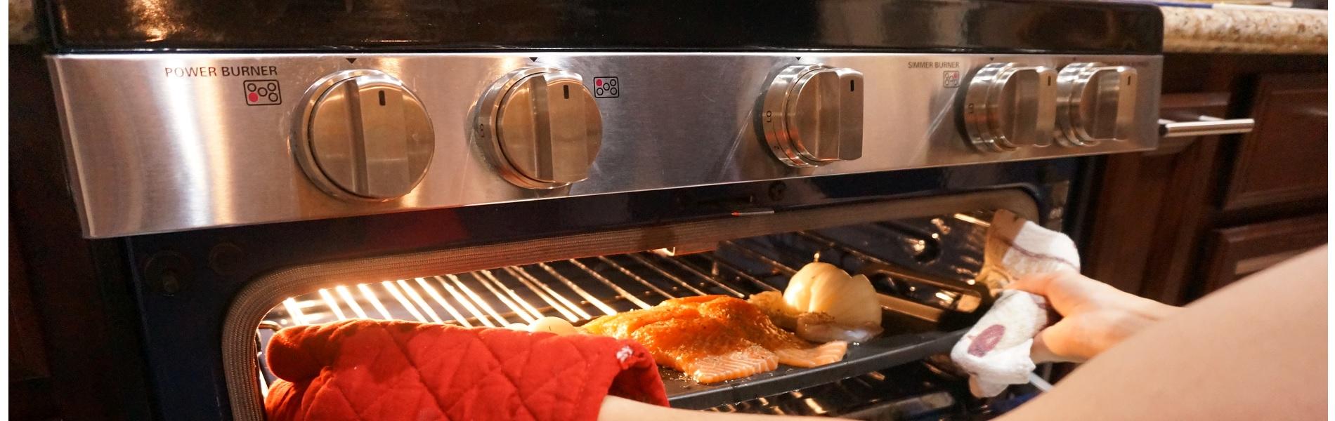 アメリカのオーブンの使い方 <簡単なグリルレシピ付き>