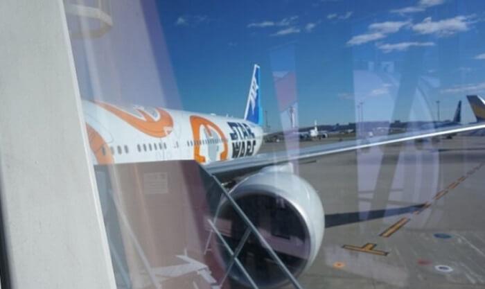 機体も内装もスターウォーズ!テンションがあがるANAの空の旅