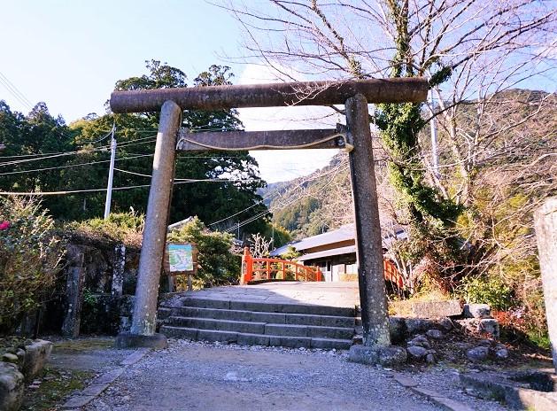熊野古道にある振ヶ瀬橋
