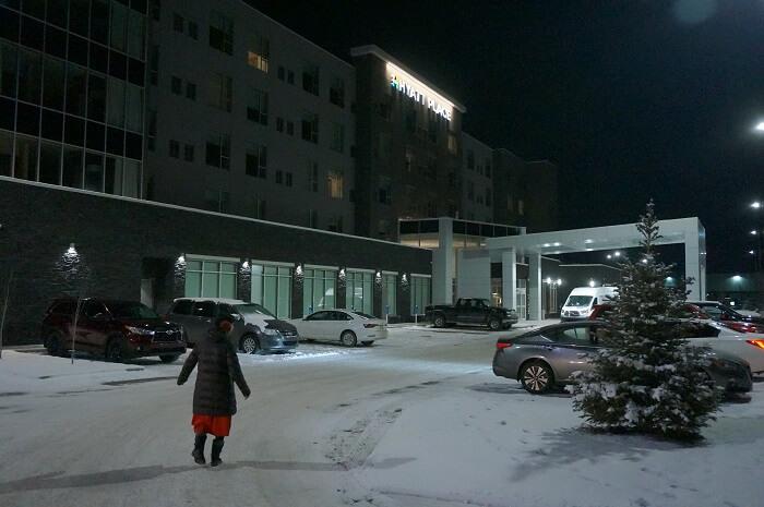 マイナス24℃!生命の危機を感じるレベルの寒い夜。
