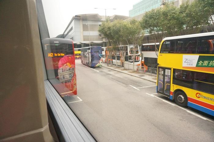 香港国際空港から九龍エリアまでバスA21で移動してみた