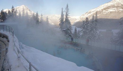 冬のカナダ温泉旅に<バンフアッパーホットスプリングス>が最高すぎる